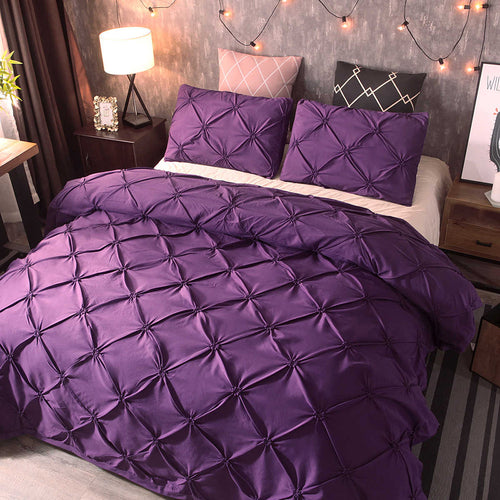 Comforter Bedding Set Silk Flower Bed Sheets And - HeirOasis Emporium