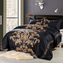 Load image into Gallery viewer, 3 Pcs Floral Print Bedding Set Pillowcase - HeirOasis Emporium