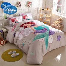 Load image into Gallery viewer, Little Mermaid Bedroom Decor Cotton Duvet Cover Set - HeirOasis Emporium