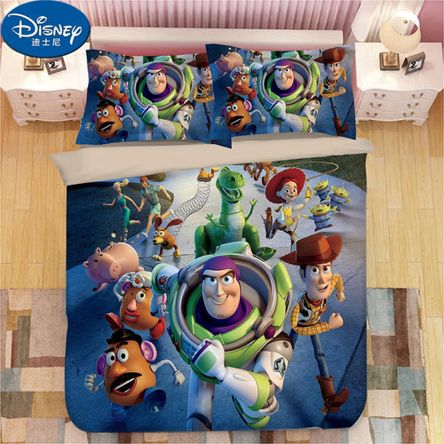 Disney Toy Story Children Bedding Set - HeirOasis Emporium