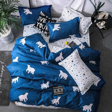 Load image into Gallery viewer, 4pcs Duvet And Pillowcase Bedding Set 2TJ-61018 - HeirOasis Emporium