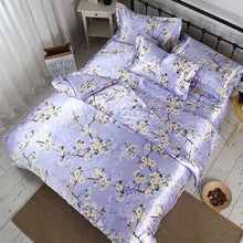 Load image into Gallery viewer, Bonenjoy Assorted Color Satin Silk Bed Sets - HeirOasis Emporium