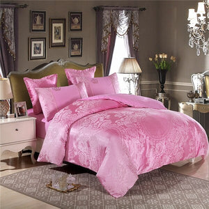 Luxury Jacquard Golden Designer Bedding Sets - HeirOasis Emporium
