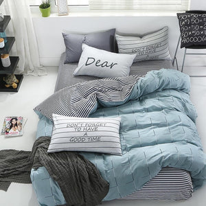 Comfortable Cotton Bed Set - HeirOasis Emporium