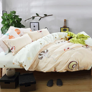 4pc Star Fashionable Soft Cotton Bedding - HeirOasis Emporium