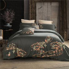 Load image into Gallery viewer, Luxury Noble Palace Egyptian Cotton Embroidery Bedding - HeirOasis Emporium