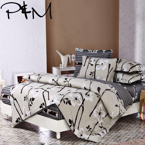 P&M 6pcs 100% Cotton Bedding Set - HeirOasis Emporium
