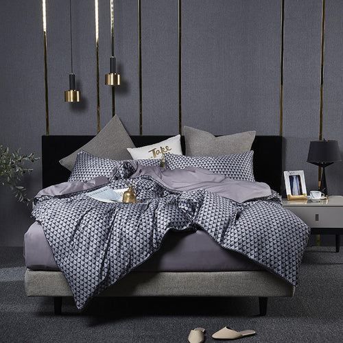 Luxury Egyptian Cotton Bedding Set - HeirOasis Emporium