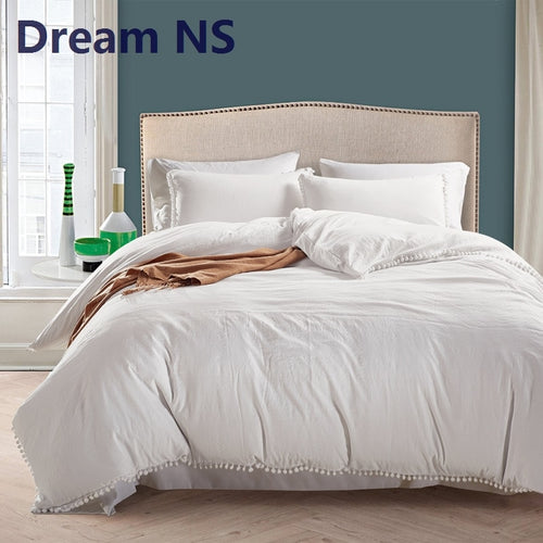 Dreamy Soft Washed Cotton Bedding Set - HeirOasis Emporium