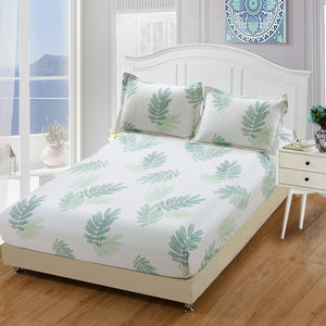 2019 New Luxury Leafy Bed Set - HeirOasis Emporium