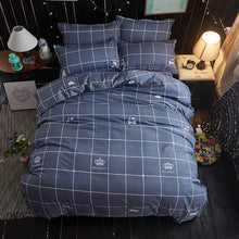 Load image into Gallery viewer, Gray Triangles Simple Style Bedding - HeirOasis Emporium