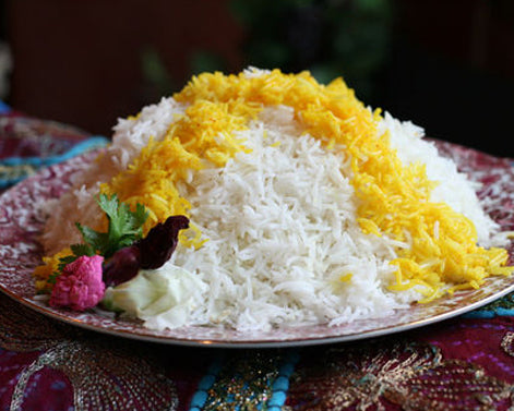 It's All About the Rice. Basmati Rice, of course