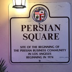 Persian Square Little Tehran Los Angeles