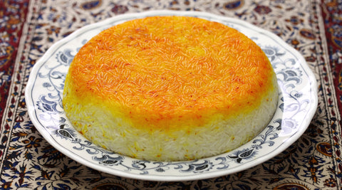 Persian Crispy Rice Tahdig