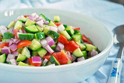 Shirazi Persian Cucumber Salad