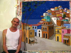 Favela Painting Starry Night