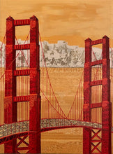 Load image into Gallery viewer, Golden Gate Bridge Native American