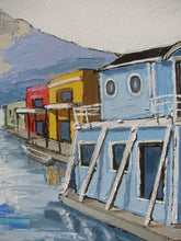 Load image into Gallery viewer, Houseboats in Sausalito
