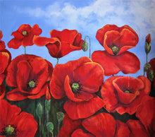 Load image into Gallery viewer, Red Poppies in Provence