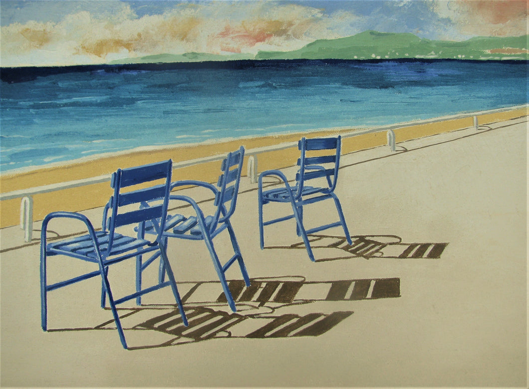 The Blue Chairs