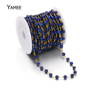Handmade Colour Jades Jewelry Diy Accessories Beading 6mm Round