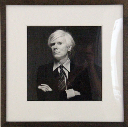Michael Halsband, Andy Warhol, August 22