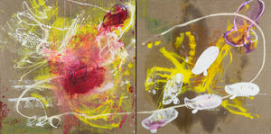 Karen Schwartz, Art & Science (diptych)