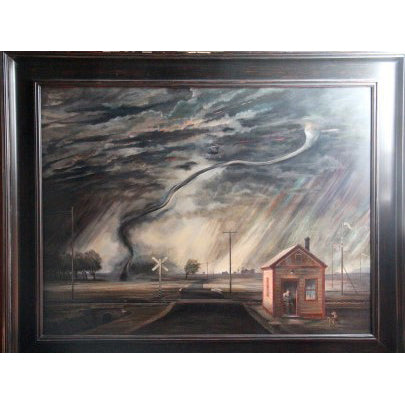 Michael Flanagan, Tornado at Ohio Crossing
