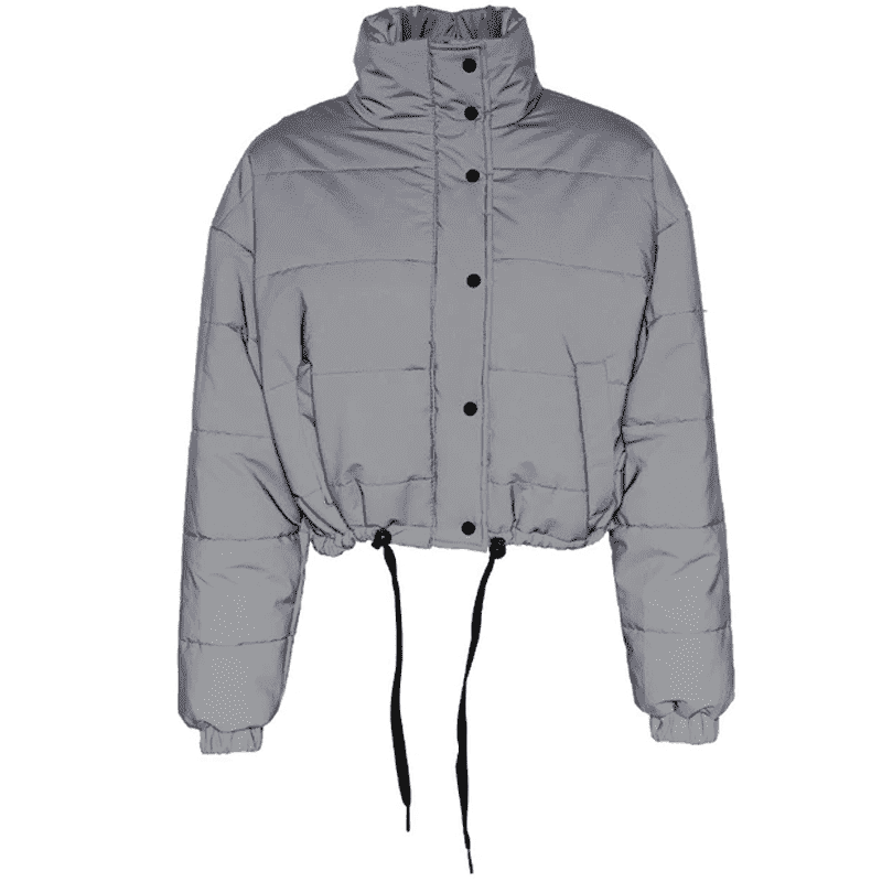 Reflective Puffy Jacket - LUX NOIRE