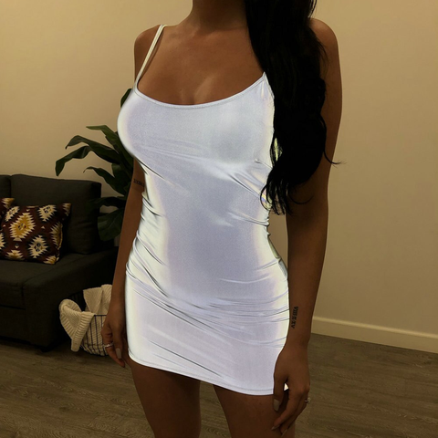 Reflective Bodycon Dress