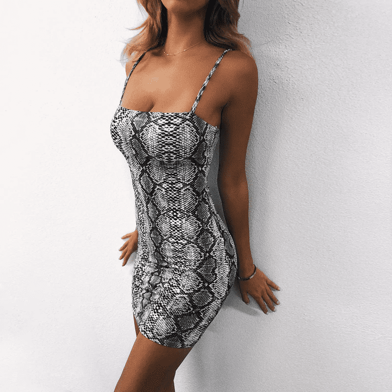 Viper Bodycon Dress