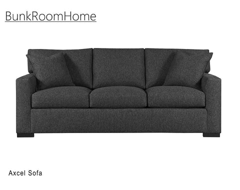 "Axcel 84"" 3 Cushion Sofa - Fabric"