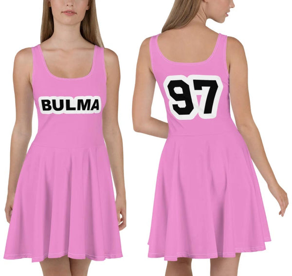 Bulma 97 Skater Dress - Geeks Pride