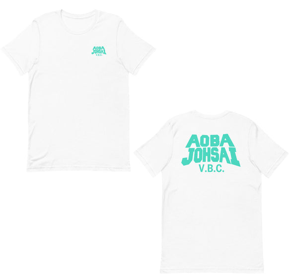 Aoba Johsai Vbc Front and Back Short-Sleeve Unisex T-Shirt - Geeks Pride
