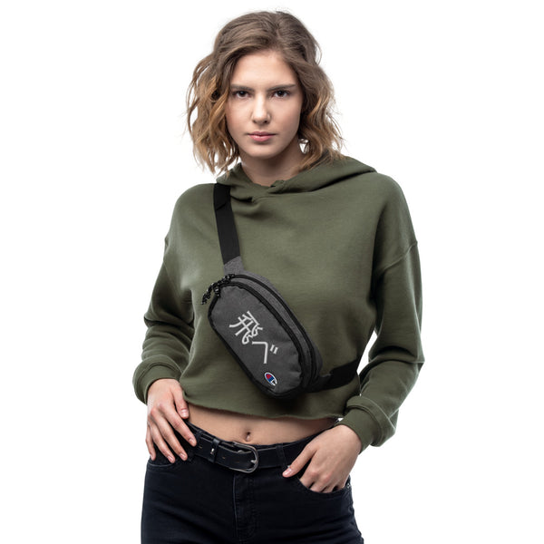 Fly High Embroidered Champion fanny pack