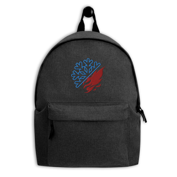 Shoto Todoroki Symbol Embroidered Embroidered Backpack