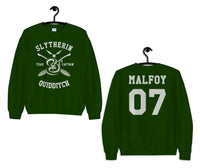 Slytherin Quidditch Team Captain Malfoy 07 Sweatshirt