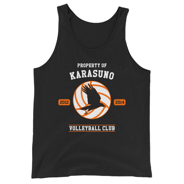 Property Of Karasuno Unisex Tank Top - Geeks Pride