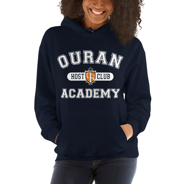 Ouran High School Host Club White Ink Unisex Pullover Hoodie - Geeks Pride