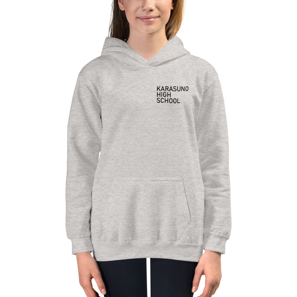 Karasuno High School Pocket Kids Hoodie - Geeks Pride
