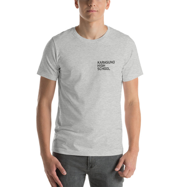 Karasuno High School Pocket Short-Sleeve Unisex T-Shirt - Geeks Pride