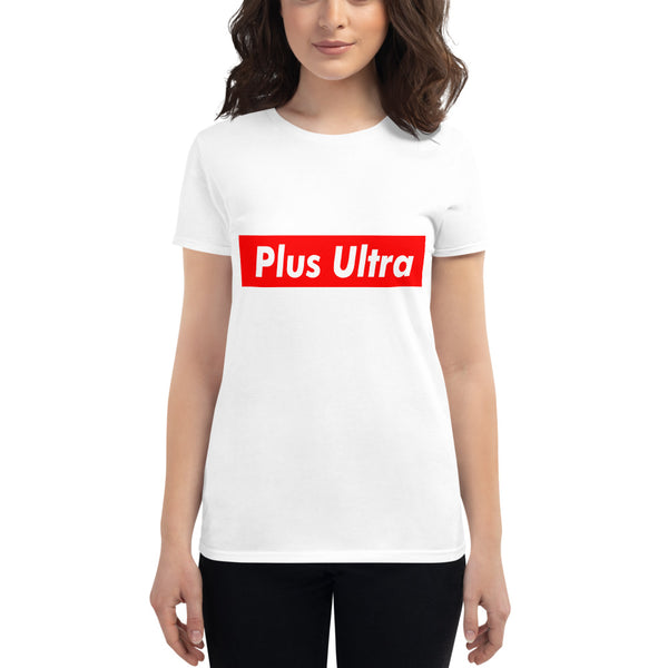 Plus Ultra Red box Women's short sleeve t-shirt - Geeks Pride