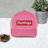 Hotdogs Red Box Trucker Cap - Geeks Pride