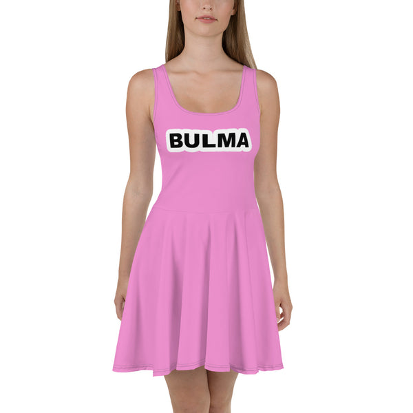 Bulma Skater Dress - Geeks Pride