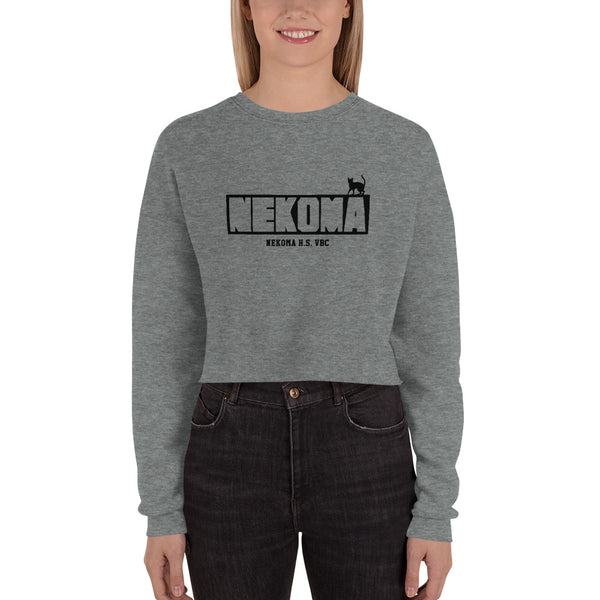 Nekoma High Volleyball Club Crop Sweatshirt - Geeks Pride