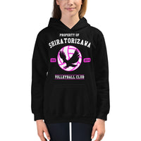 Property Of Shiratorizawa Kids Hoodie
