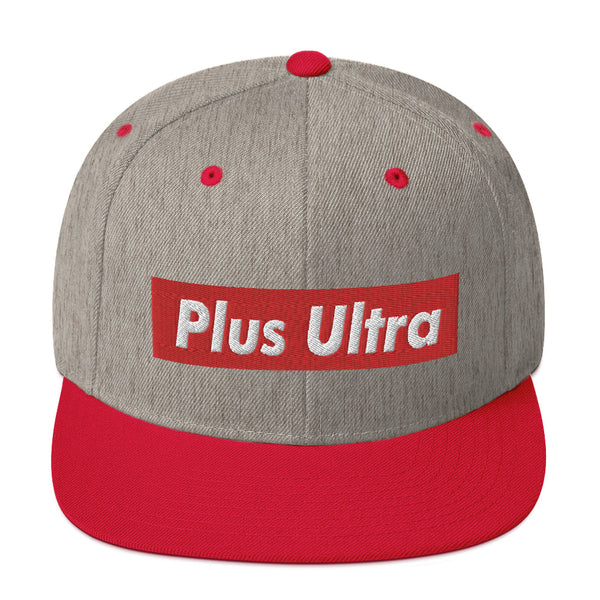 Plus Ultra Snapback Hat - Geeks Pride
