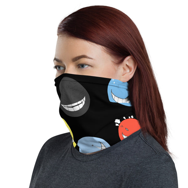 Korosensei Assassination Classroom Neck Gaiter - Geeks Pride