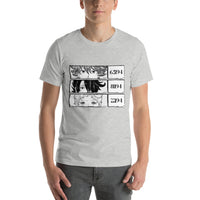 Ray, Emma, Norman The Promised Neverland Short-Sleeve Unisex T-Shirt - Geeks Pride