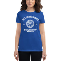 Waterbending University White Women's short sleeve t-shirt - Geeks Pride
